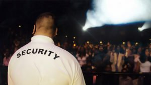 sicurezza eventi